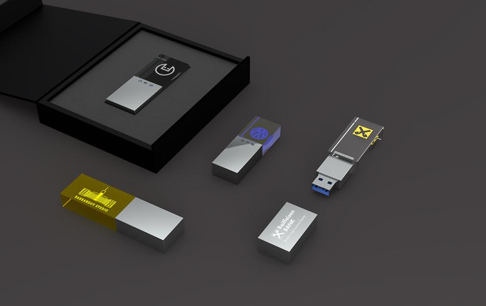 USB krystal GLANC