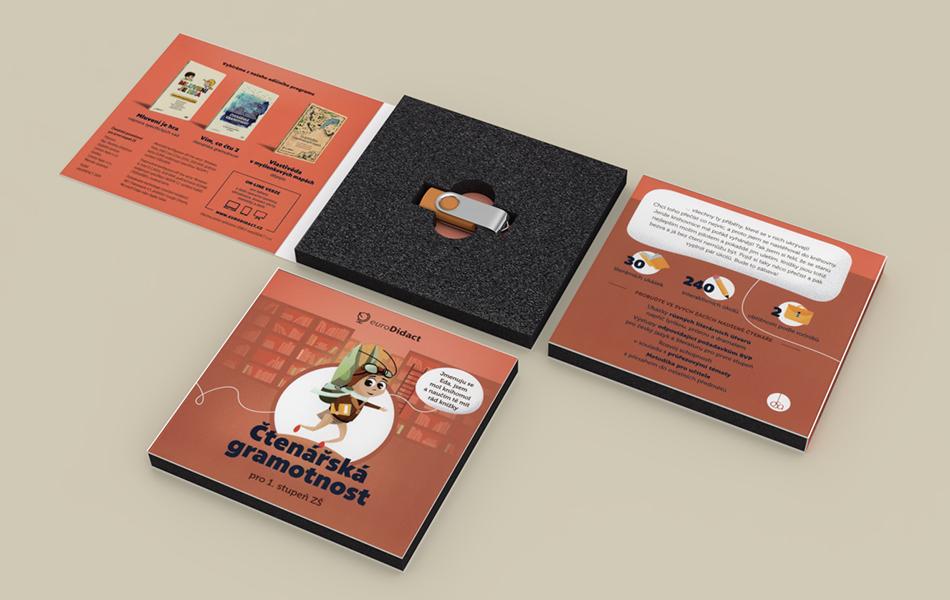 Booklet s usb diskem