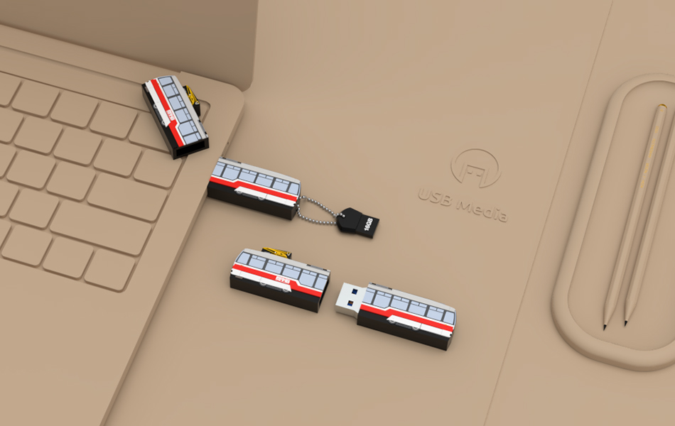 USB na míru - 2D Design
